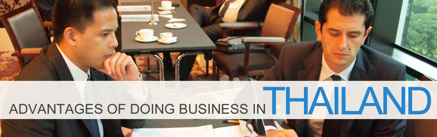Advantages of doing business in Thailand